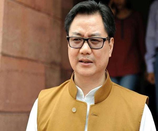 sports minister kiren rijiju corona positive