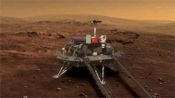 chinese spacecraft lands on mars