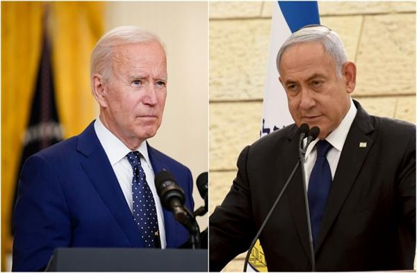 netanyahu discusses military campaign with biden