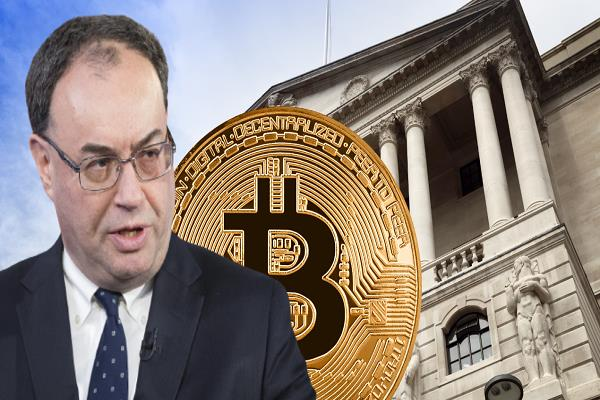 all the money of cryptocurrency investors could sink bank of england