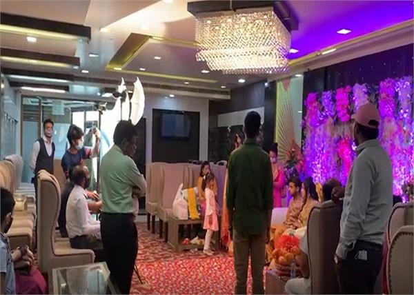 bathinda hotel wedding police raid