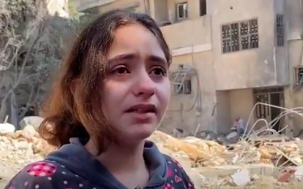 10 year old girl   truth of catastrophe  israel and palestine