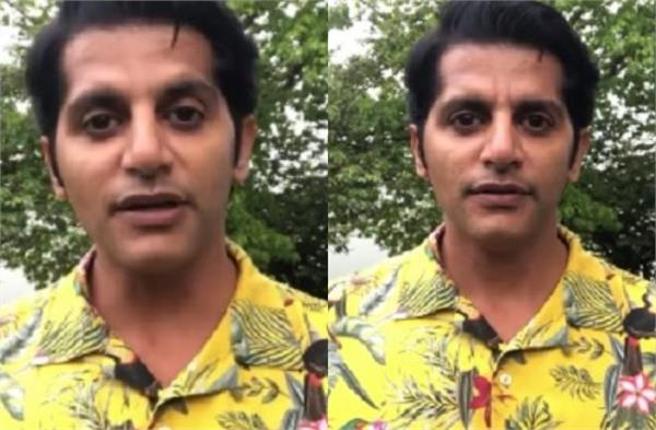 situation in the country  karanveer bohra questioned the government