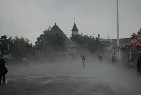 heavy rainfall hailstorm and thunderstorm alert in 10 districts of himachal