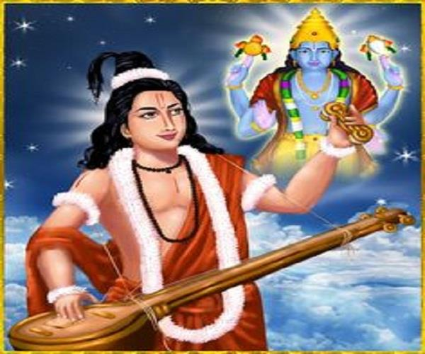 today is narand jayanti  find out how narada muni was born