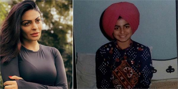 neeru bajwa shared old memory with her father