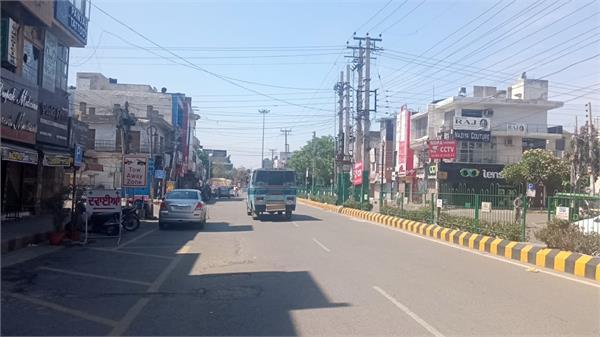 weekend lockdown in punjab jalandhar