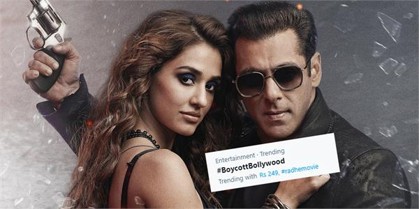 boycott bollywood trending on twitter