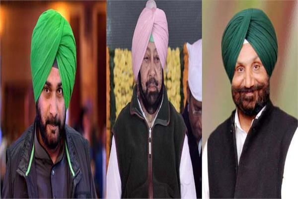 different warring factions punjab congress captain amarinder singh