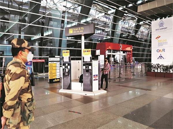 covid 19  delhi airport terminal 2  closed today