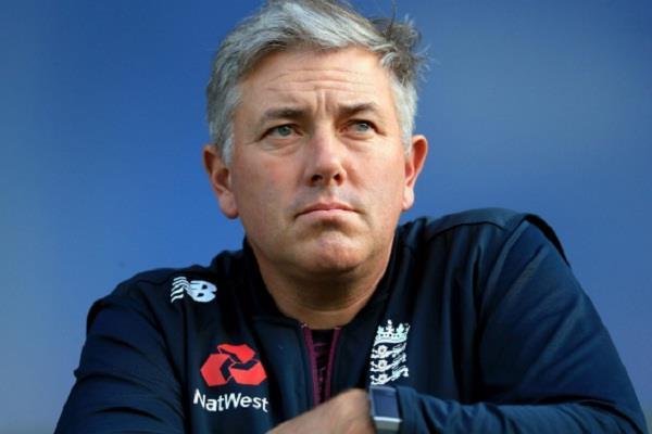 coach chris silverwood  break  england