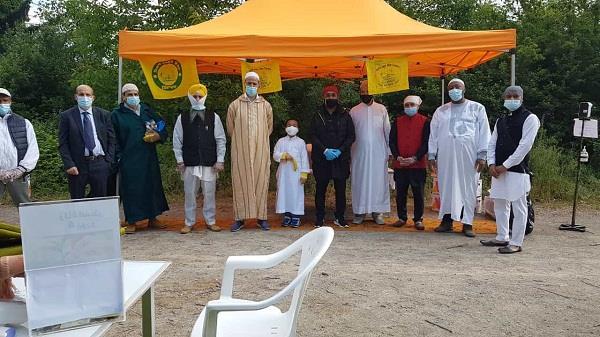 italy muslim community eid ul fitr holy day