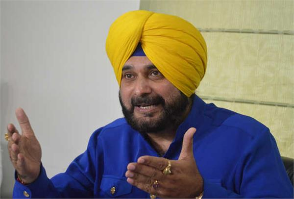 after the vigilance action sidhu tweeted and challenged the captain