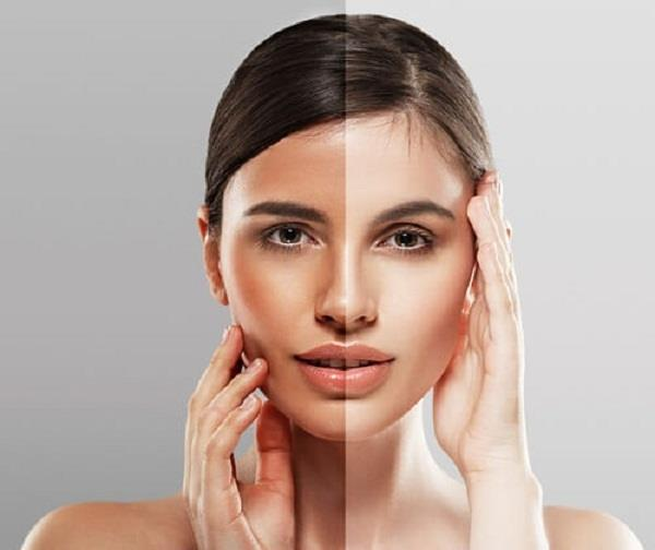 beauty tips  face pack made with melon remove suntan face glow
