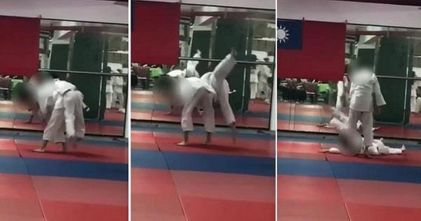 7 year old innocent  judo coach  critical condition