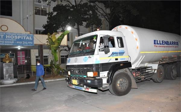 7 covid patients die in hospital as oxygen tanker loses way