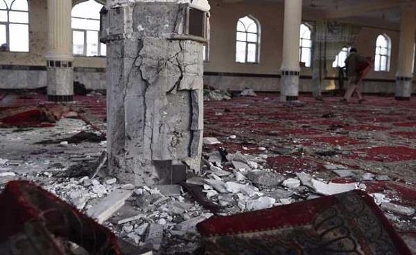kabul mosque  blast 12 died