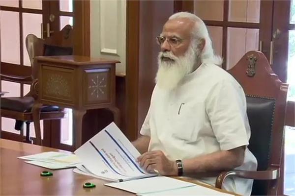 covid 19  narendra modi high level meeting
