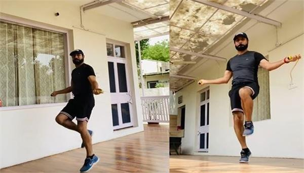binnu dhillon shares his workout video with fans