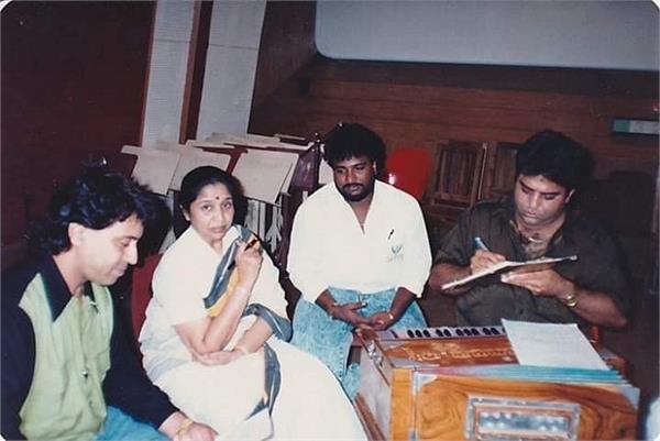 veteran singer asha bhosle charanjit ahuja and sardool sikander
