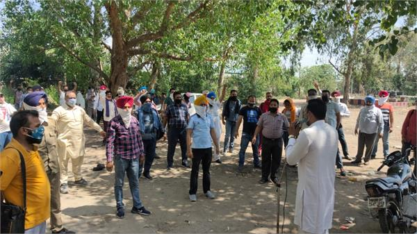 punjab roadways workers protest