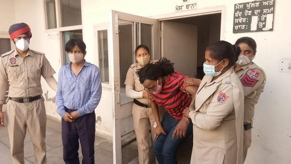 foreign woman arrested with rs 2 5 crore heroin