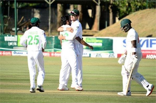 pakistan  test series  zimbabwe  clean sweep