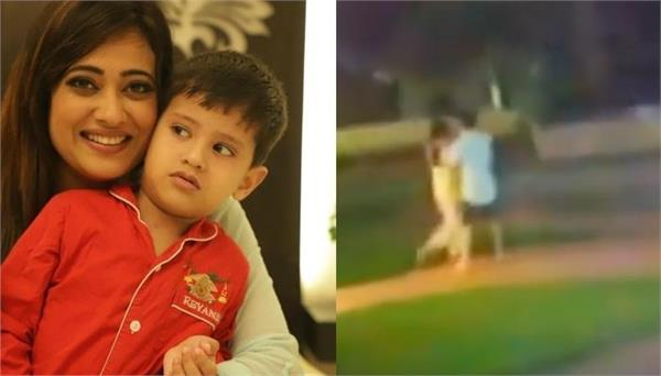 shweta tiwari shares cctv video to prove abhinav kohli physically abused