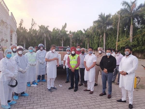 khalsa aid provides   sanjivani   to seclusion center