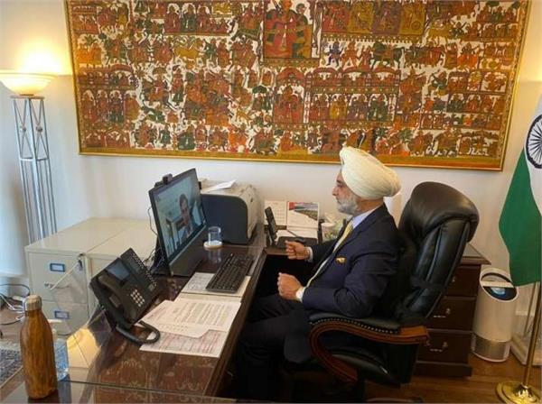 indo us support important in fight against kovid 19  sandhu