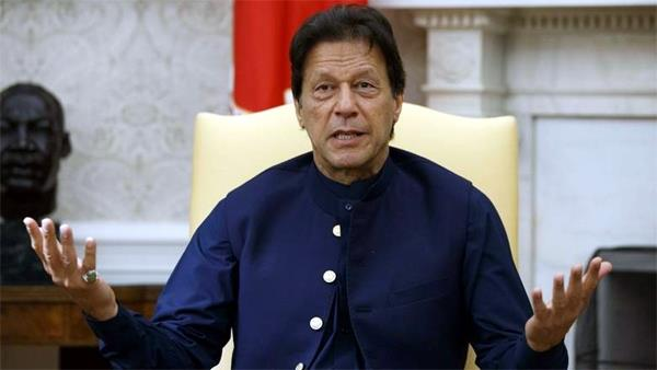 no need for atom bomb if kashmir issue is resolved  imran khan