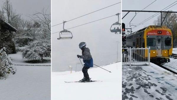 sydney rain snow cold