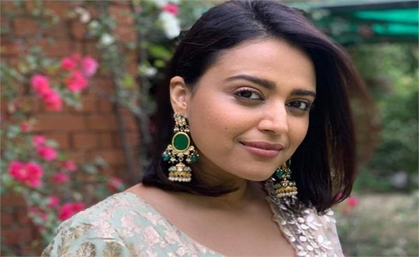 complaint against actor swara bhaskar and journalist arfa khanum
