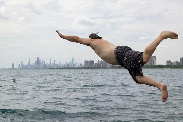 dan o connor corona virus stress ice lake jump