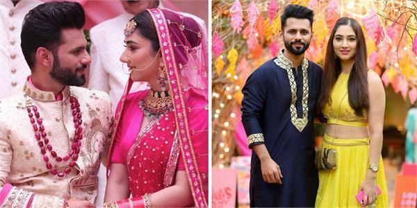 rahul vaidya on wedding with disha parmar
