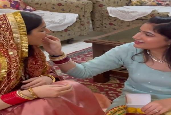 actress drishti grewal shared a beautiful video of widening