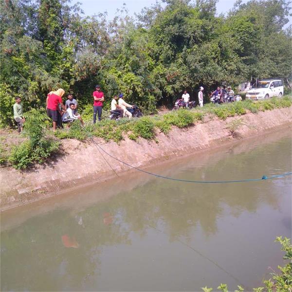 boy dead in river hoshiarpur