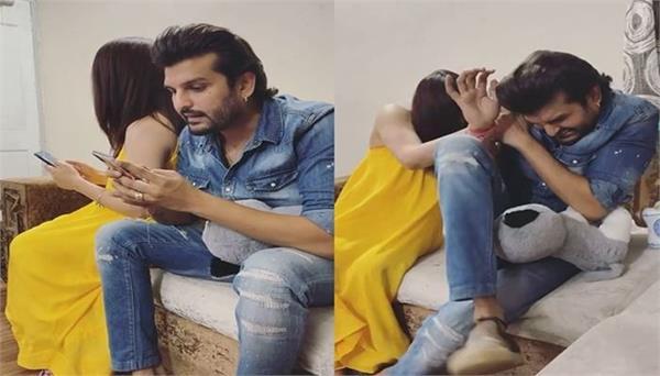 mansi sharma made funny video with husabnd yuvraaj