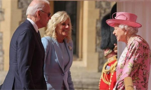 uk queen elizabeth usa president joe biden meet