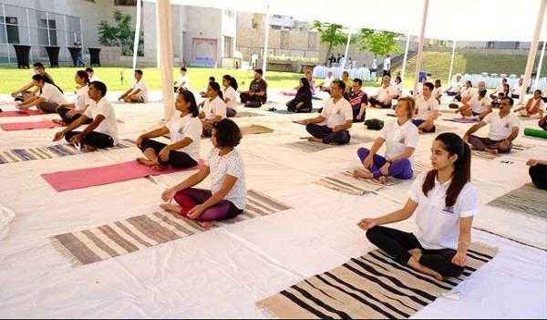 pakistan indian high commission international yoga day
