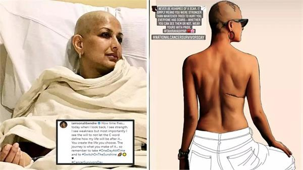 sonali bendre  tahira kashyap recount their journey on cancer survivors day
