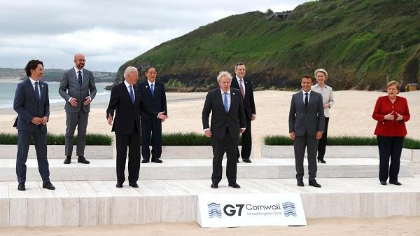 g 7 summit  concluding  immunization and climate change