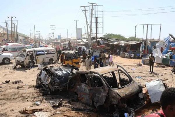 somalia  suicide attack  15 people killed