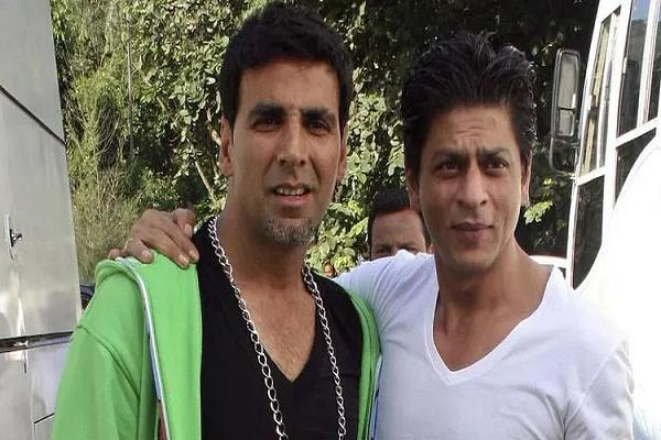 for this reason actor shah rukh khan does not work with akshay kumar