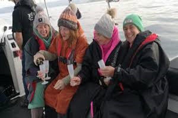 scotland  women  s team crosses dal rita channel