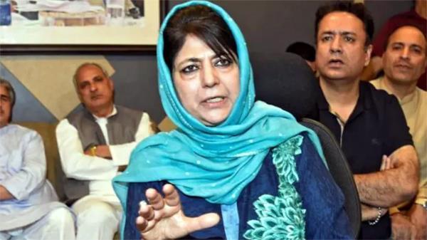 talking to pakistan gives comfort to kashmiris  mehbooba