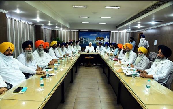 bibi jagir kaur reviewed the arrangements in a meeting sri darbar sahib