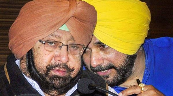 for the good of the congress party  sidhu and amarinder should unite
