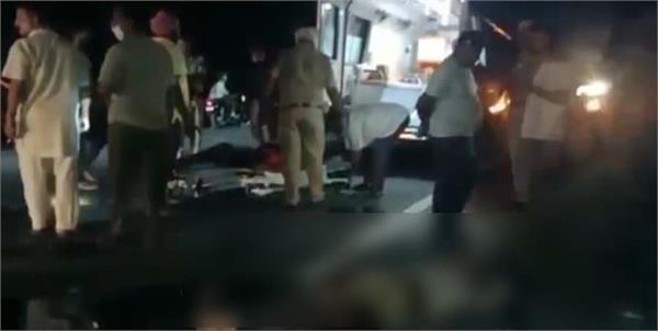 hoshiarpur road accident peopels dead