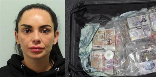 woman jailed for trying to smuggle millions of pounds from uk to dubai